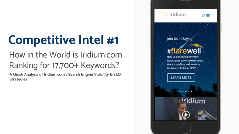 Iridium SEO Competition Research