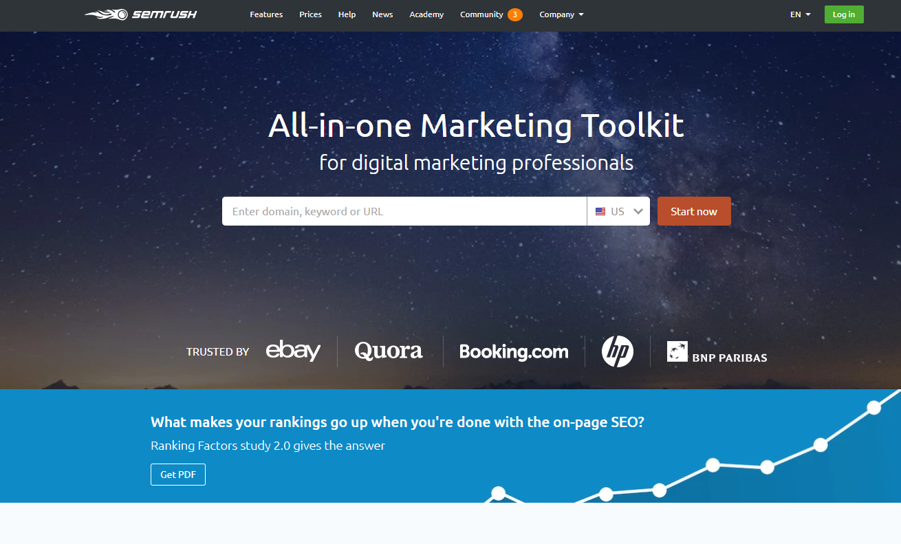 SEO Toolkit by SEMrush