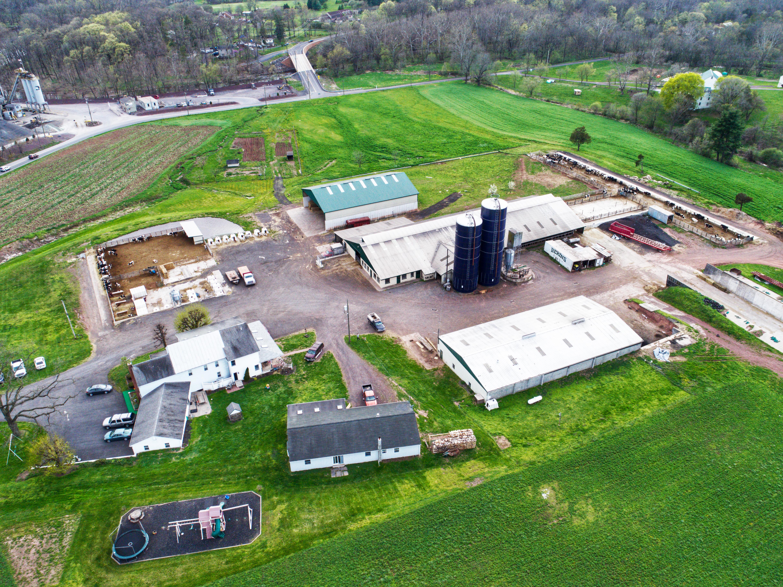 Farm House Aerial Photography